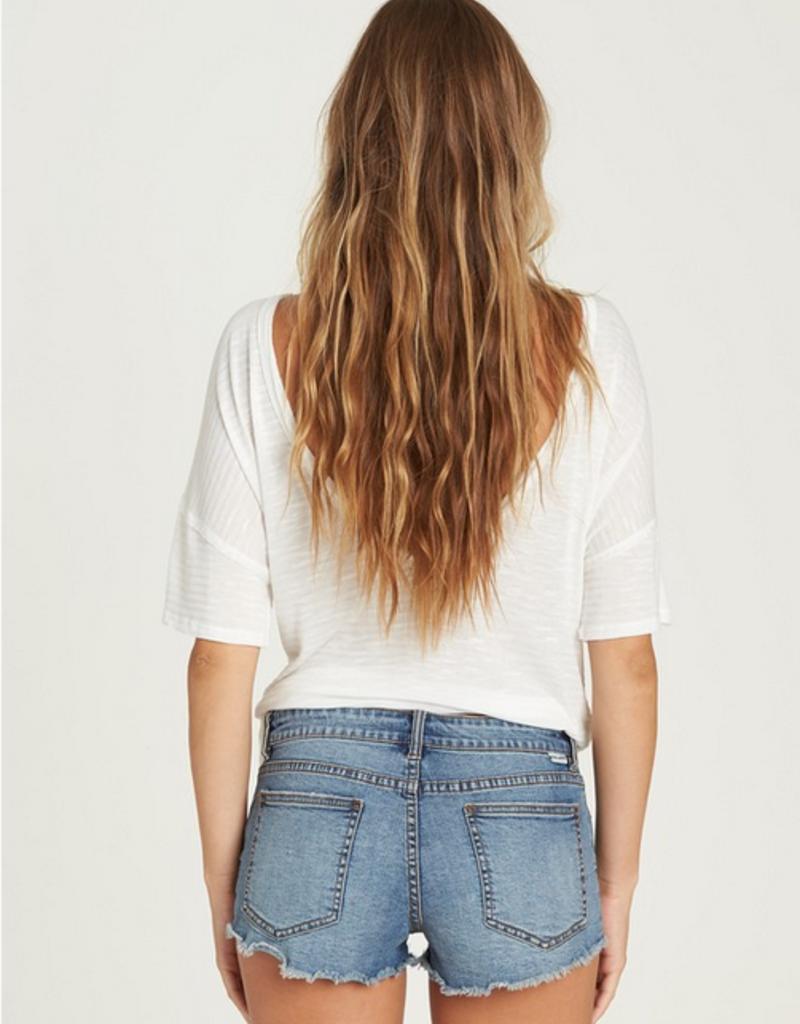 Billabong Buttoned Up Denim Shorts