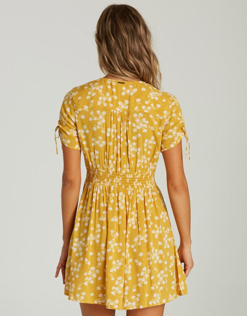 Billabong Short Sleeve Sundress