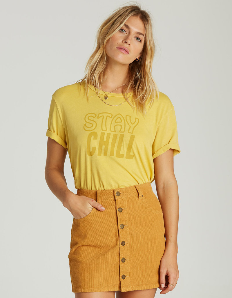 Billabong Corduroy Mini Skirt