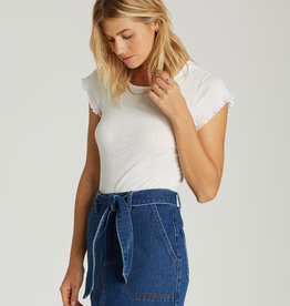 Billabong Tie Waist Denim Skirt