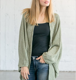 Chris & Carol Drop Sleeve Cardigan