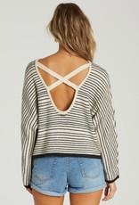 Billabong Striped X Back Sweater