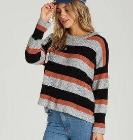 Billabong Striped Slouch Sweater