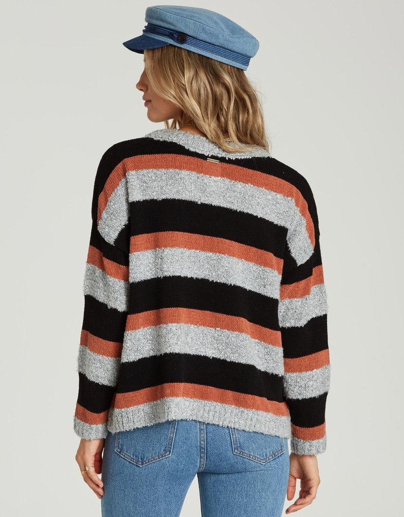 Billabong Striped Slouch Sweater