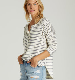 Billabong Striped Thermal Henley