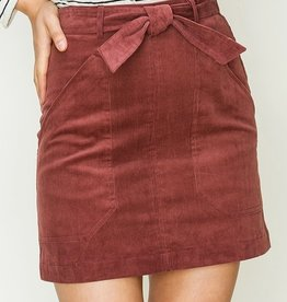 HYFVE Tied Corduroy Skirt