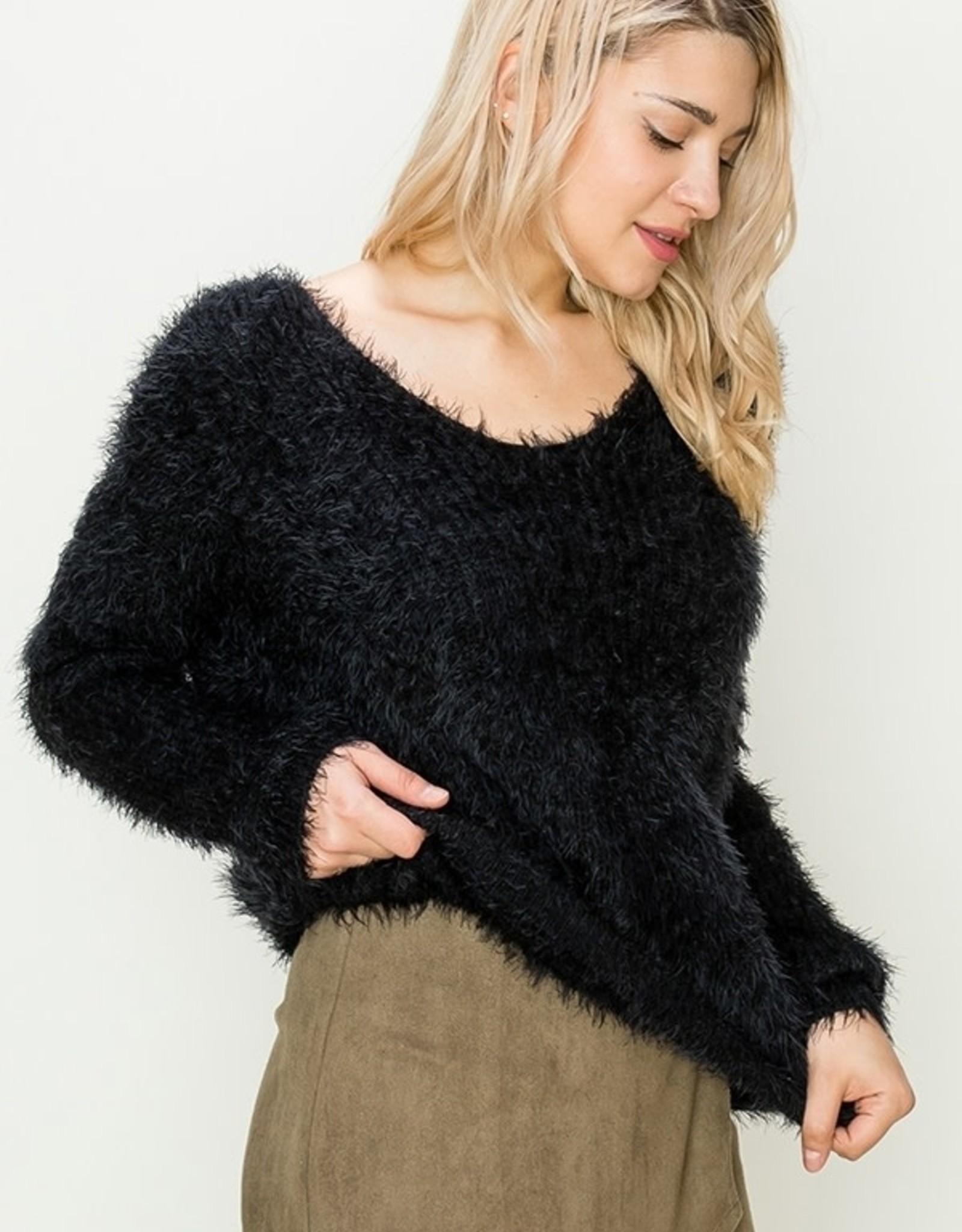 HYFVE Twist Eyelash Sweater