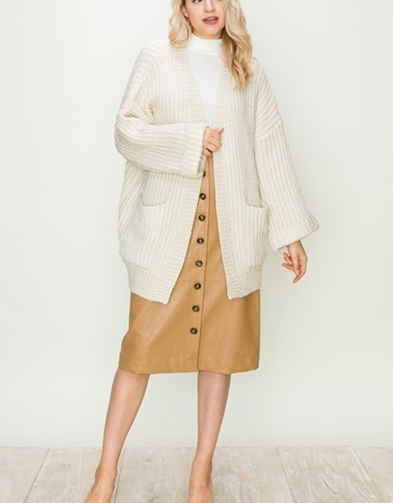 HYFVE Chunky Pocket Cardigan