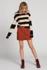 Volcom Deep Pocket Zip Skirt
