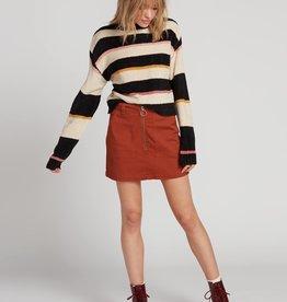 Volcom Deep Pocket Zip Skirt