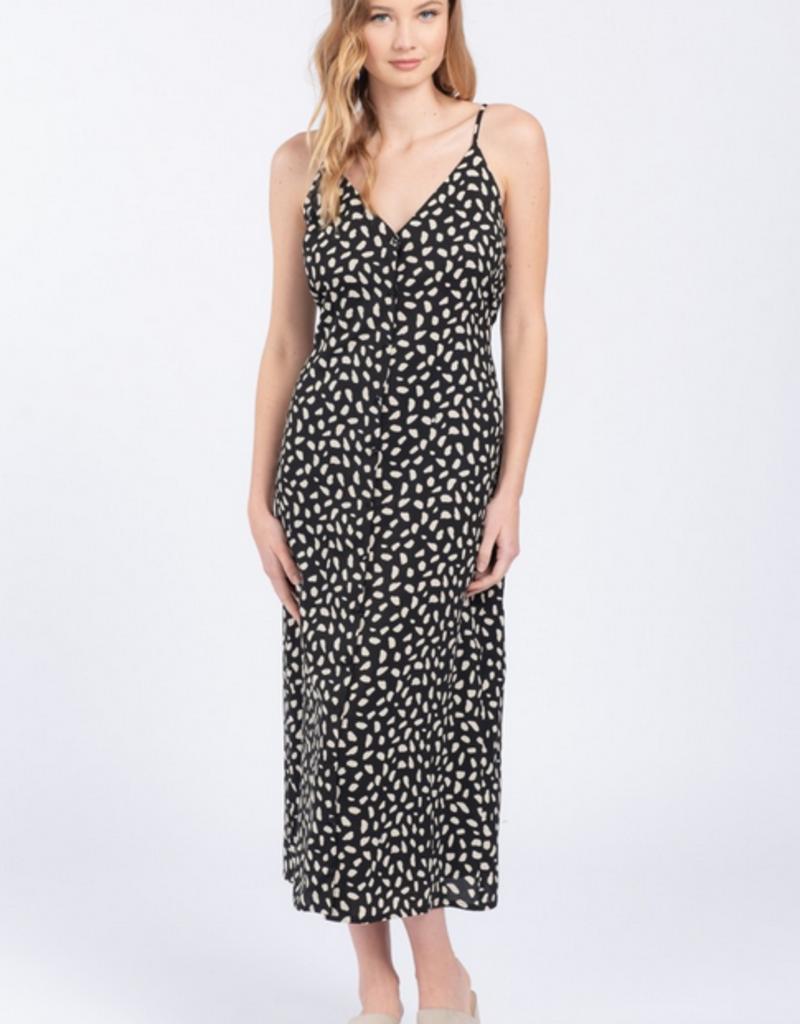 Everly Giraffe Print Dress