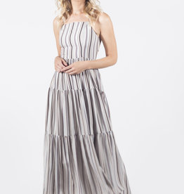 Lira Striped Tie Back Dress