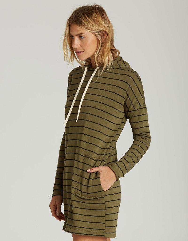 Billabong Striped Tunic Hoodie