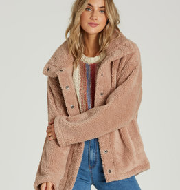 Billabong Snap Up Sherpa Coat