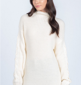 Everly Stitched Arm Sweater