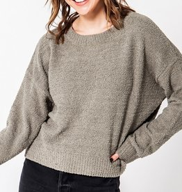 HYFVE Cropped Pullover Sweater
