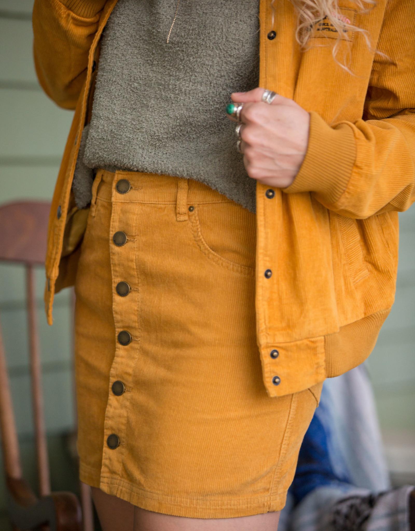 Billabong Corduroy Mini Skirt