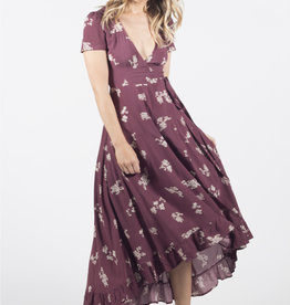 Lira Azalea Wrap Dress