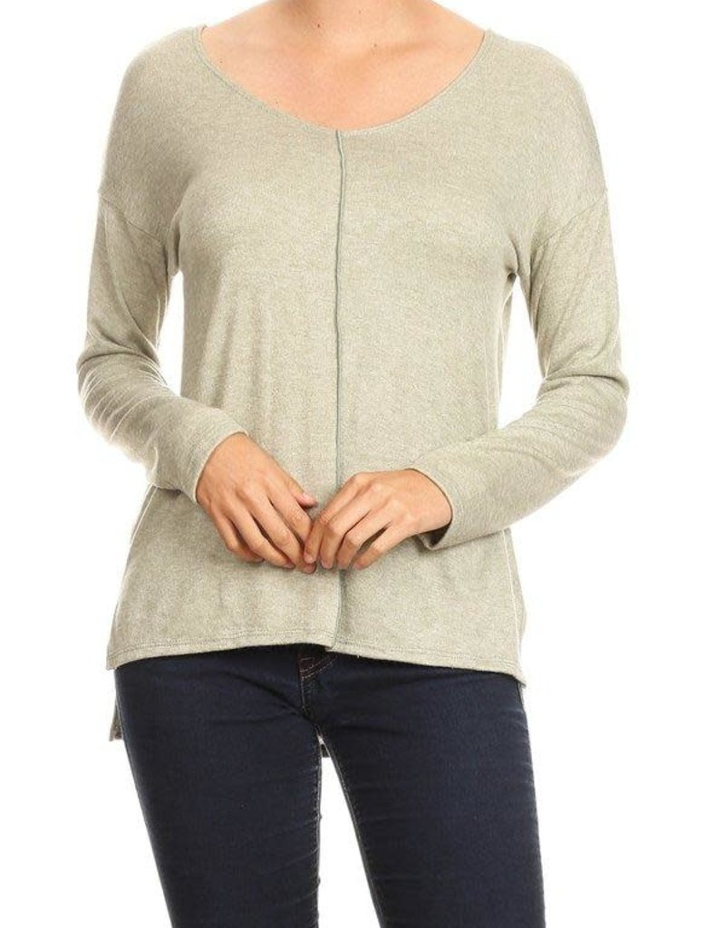 Ginger G Front Seam Top