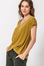 HYFVE Twist Wrap Modal Top