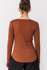 HYFVE Fitted Button Top