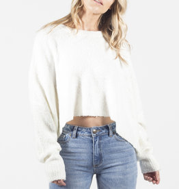 Lira Oversized Cropped Sweater