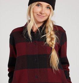 Volcom Plaid Shirt Jacket