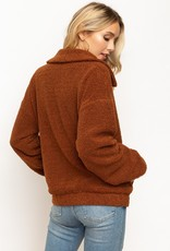 Hem & Thread Teddy Jacket