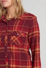 Volcom Getting Rad Plaid Flannel