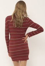 Amuse Society Rib Knit Dress