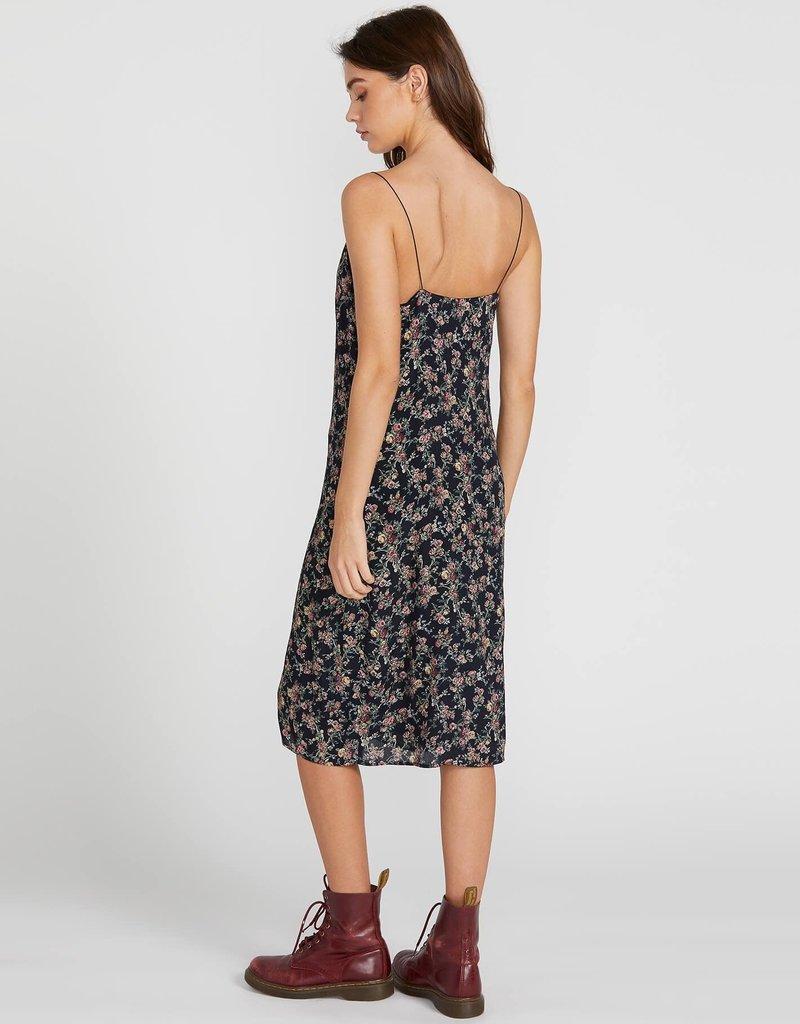 Volcom Vintage Floral Midi Dress
