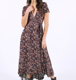 Lira Paisley Wrap Dress