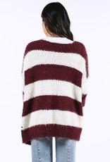 Lira Wide Stripe Cardigan