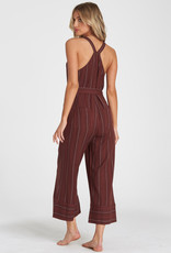 Billabong Striped Overalls