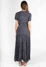 Lira Wild Dots Wrap Dress
