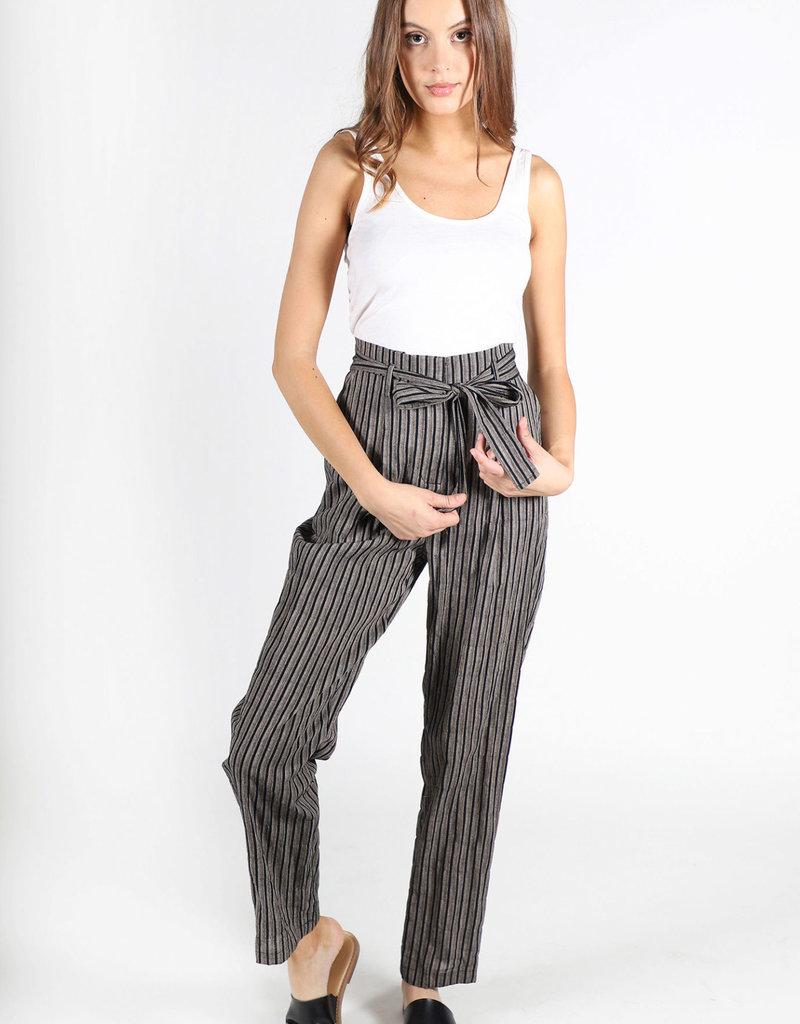 Lira High Waisted Striped Pants