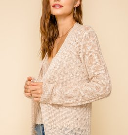 Hem & Thread Long Knit Cardigan
