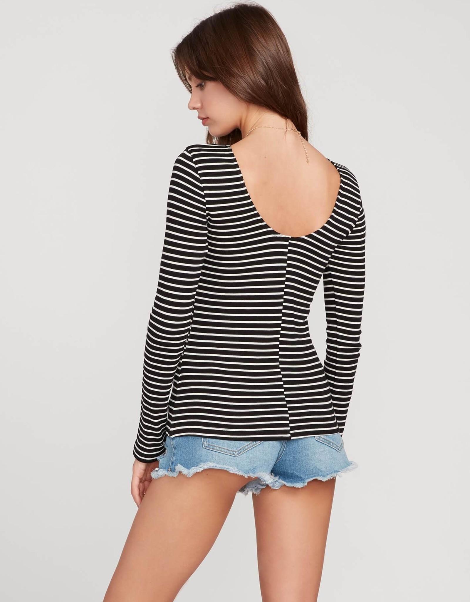 Volcom Long Sleeve Stripe Top