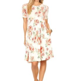 Chris & Carol Floral Pocket Dress