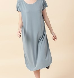HYFVE Raw Edge T-Shirt Dress