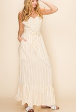 HYFVE Striped Maxi Dress