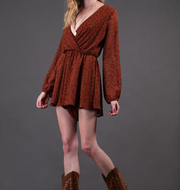 Final Touch Long Sleeve Romper