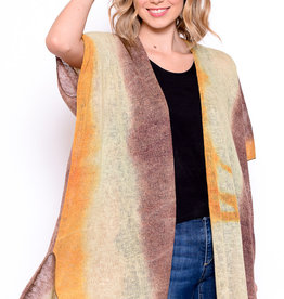Chris & Carol Tie Dye Wrap