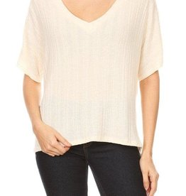 Ginger G Knit Dolman Top