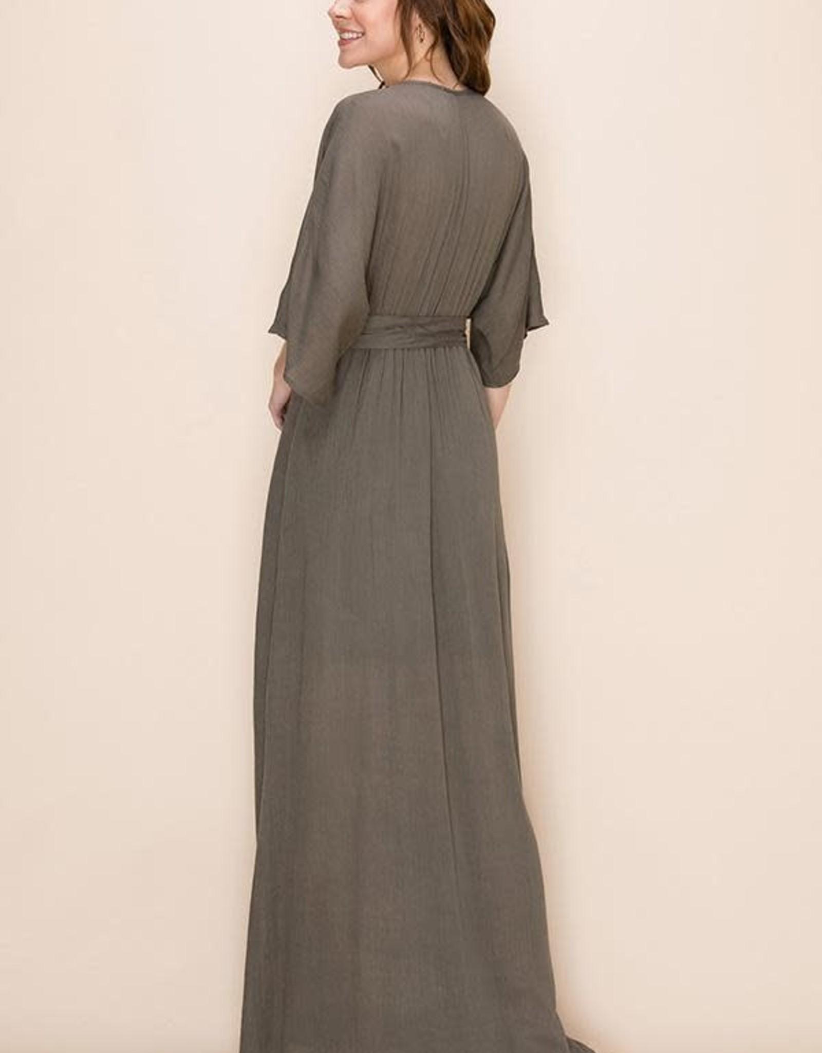 HYFVE Draped Maxi Dress