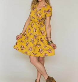 Chris & Carol Spring Blossom Wrap Dress