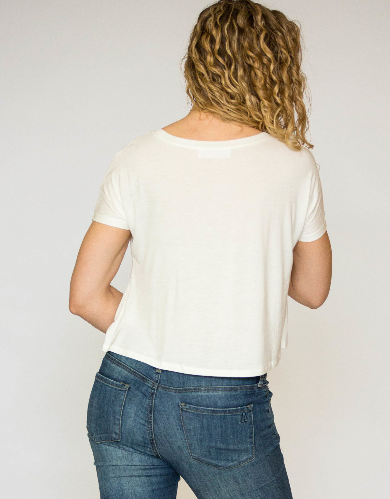 HYFVE Cropped Knot Tee