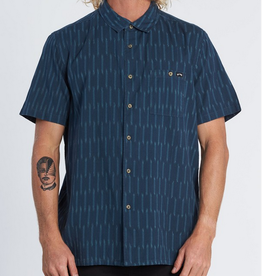 Billabong Streaked Short Sleeve Button Up
