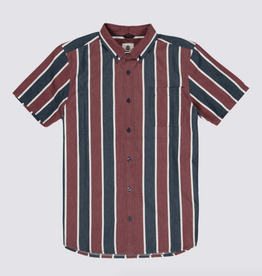 Element Stripe Short Sleeve Button Up