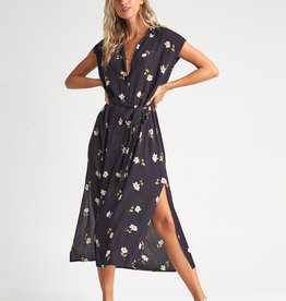 Billabong Button Up Maxi Dress